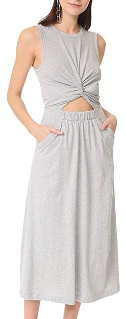 Preload https://img-static.tradesy.com/item/24220298/t-by-alexander-wang-grey-front-twist-muscle-long-casual-maxi-dress-size-4-s-0-1-650-650.jpg