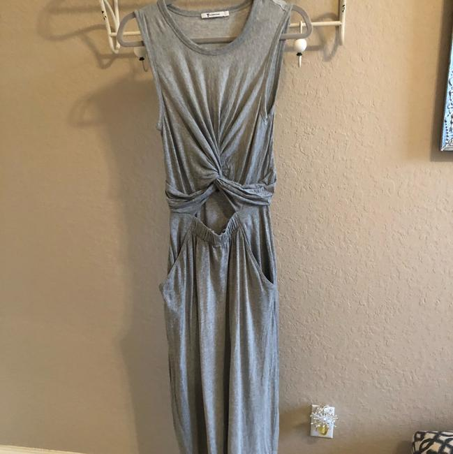 grey Maxi Dress by T by Alexander Wang