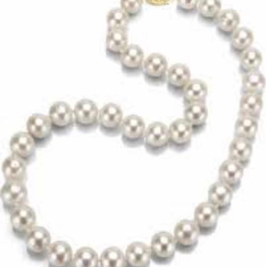 14kt Gold Yellow Pearl Necklace pearl