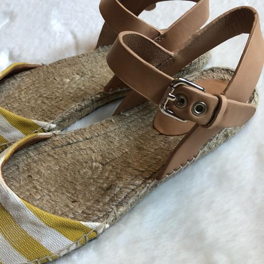 Coach Yellow Sandals