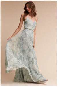 Jenny Yoo Multi-mist Polyester Chiffon Inesse Formal Bridesmaid/Mob Dress Size 14 (L)