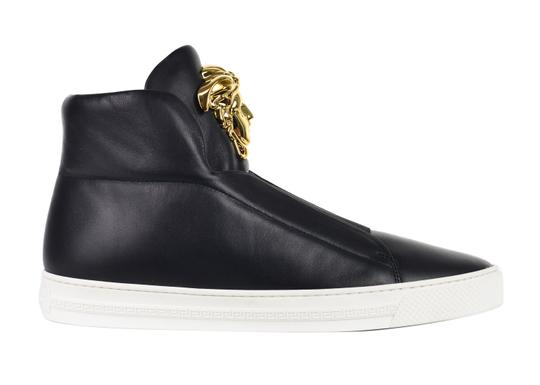Preload https://img-static.tradesy.com/item/24220407/versace-collection-black-women-medusa-leather-high-top-palazzo-sneakers-c3163-sneakers-size-us-9-reg-0-0-540-540.jpg