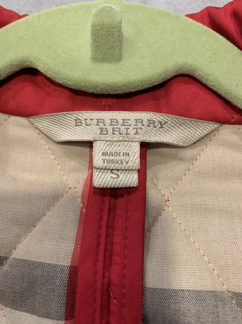 Burberry Brit Quilted Classic red Jacket