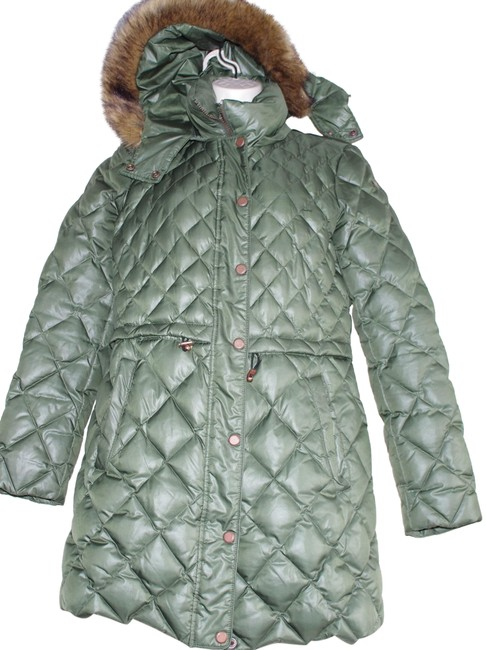 Preload https://img-static.tradesy.com/item/24220466/andrew-marc-green-quilted-puffer-down-hooded-coat-size-8-m-0-1-650-650.jpg