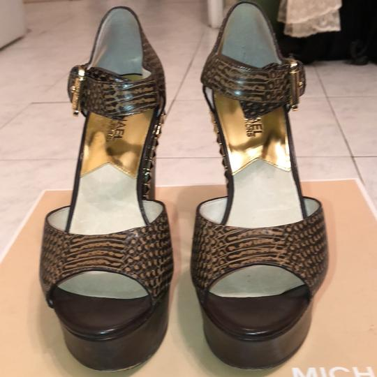 MICHAEL Michael Kors Dark brown Wedges