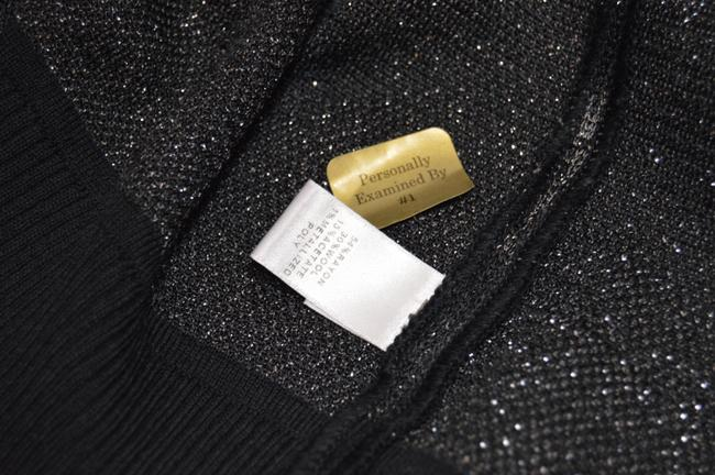 St. John Business Attire. St Plaque Wool Blend. Black Jacket