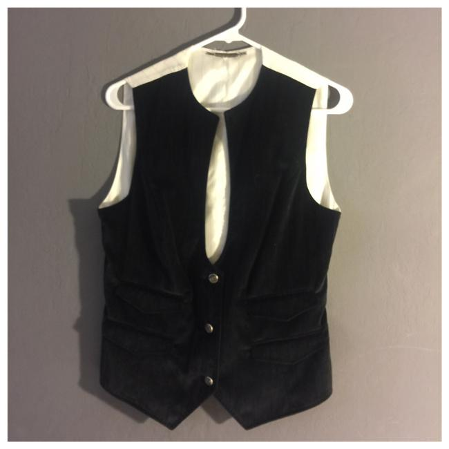 Preload https://img-static.tradesy.com/item/24220566/dolce-and-gabbana-dolce-and-gabbana-velvet-and-silk-button-up-women-in-black-and-white-vest-size-12-0-0-650-650.jpg