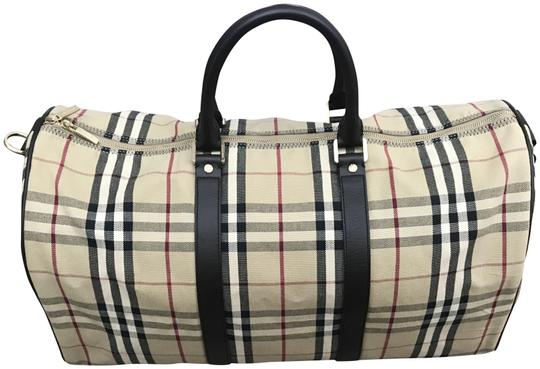 Burberry Keepall Brown Travel Bag