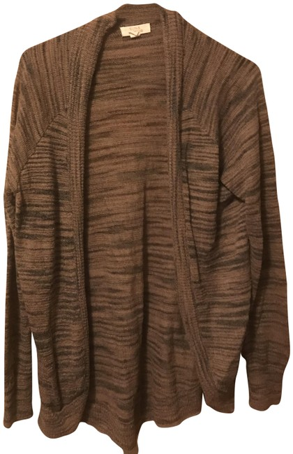 Preload https://img-static.tradesy.com/item/24220582/sunshine-and-shadow-brown-cardigan-size-12-l-0-1-650-650.jpg
