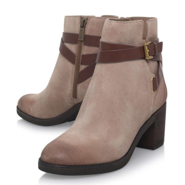 Item - Light Camel Real Leather Fawn Ankle Boots/Booties Size US 9 Regular (M, B)