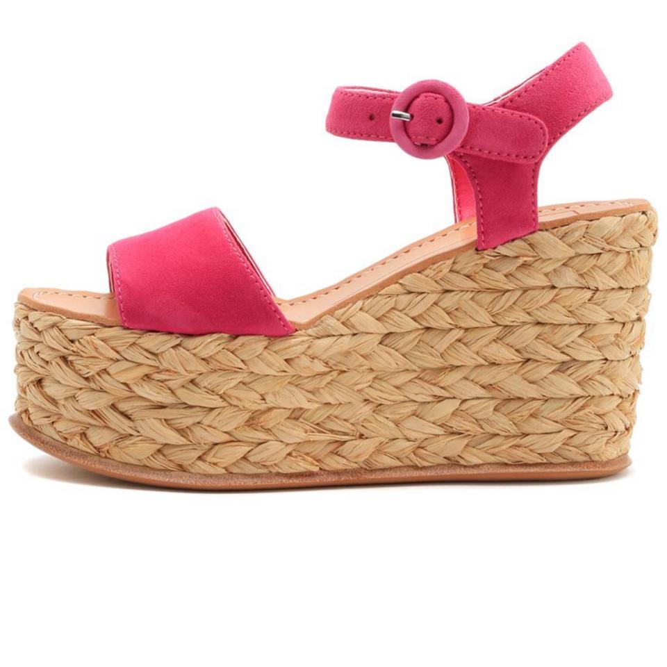 0ea1fe5bc37d Dolce Vita Pink Dane Wedges Size US 9.5 Regular (M