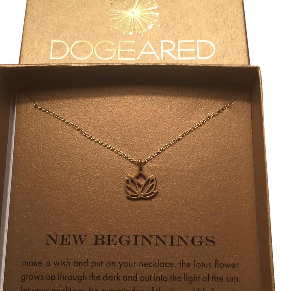 Dogeared Gold Dip 18inch New Necklace Tradesy