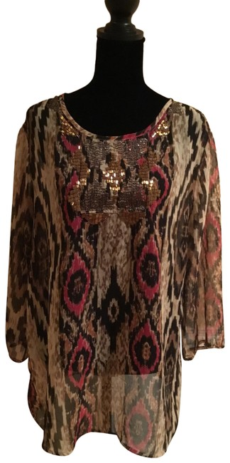 Item - Brown Tunic Size 12 (L)
