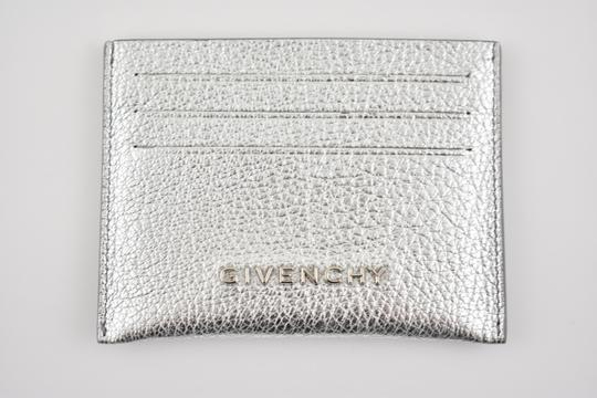 Givenchy Givenchy Pandora Metallic Textured Leather Card Holder Case Wallet