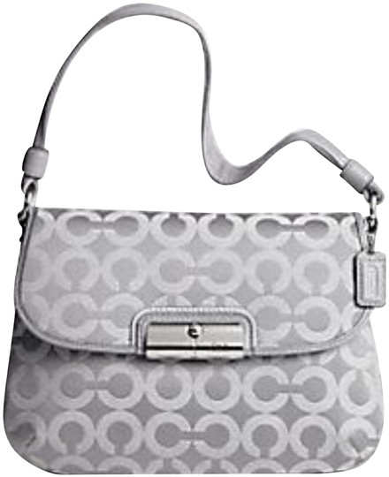 Preload https://img-static.tradesy.com/item/24221538/coach-signature-kristin-gray-op-art-fabric-with-leather-trim-shoulder-bag-0-1-540-540.jpg