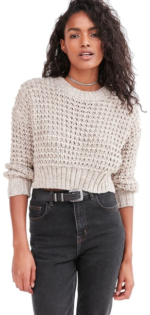 Preload https://img-static.tradesy.com/item/24221542/urban-outfitters-ecote-isabella-open-stitch-taupe-sweater-0-1-650-650.jpg