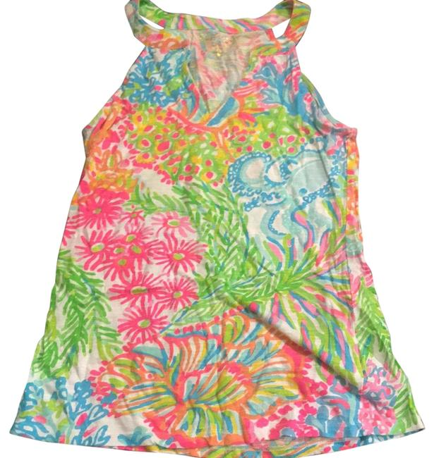 Preload https://img-static.tradesy.com/item/24221568/lilly-pulitzer-multicolor-tank-topcami-size-0-xs-0-1-650-650.jpg