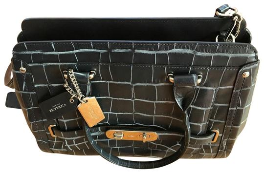 Preload https://img-static.tradesy.com/item/24221579/coach-swagger-37183-frame-denim-croc-embossed-blue-leather-satchel-0-1-540-540.jpg