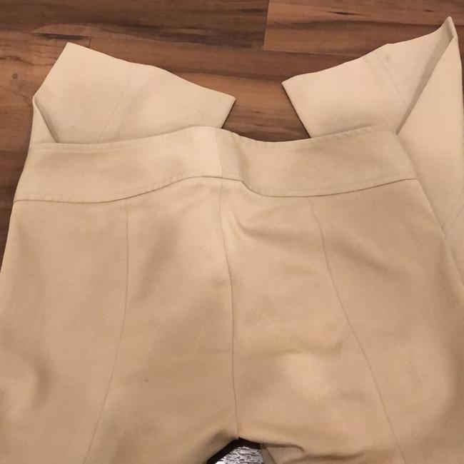 Theory Capri/Cropped Pants Tan