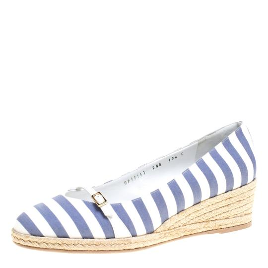 Preload https://img-static.tradesy.com/item/24221629/salvatore-ferragamo-two-tone-striped-canvas-audrey-wedge-espadrille-pumps-size-eu-41-approx-us-11-re-0-0-540-540.jpg