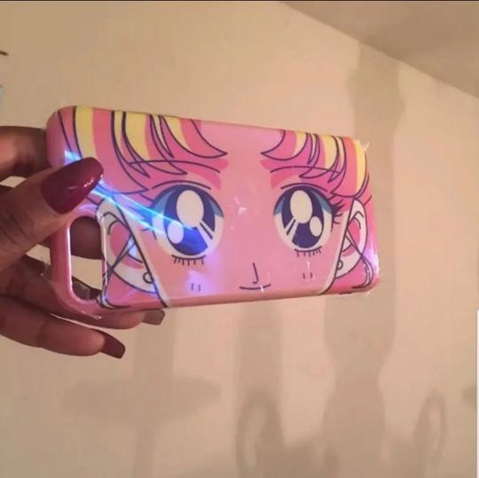 N/A iPhone 7/8 plus sailor moon glossy case