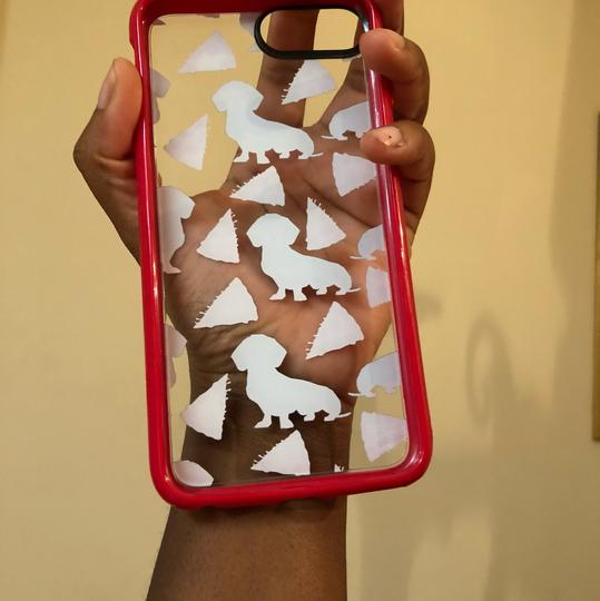 N/A IPhone 8 Plus Dachshund and Pizza casetify Case