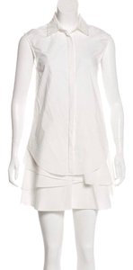 10 Crosby Derek Lam short dress White on Tradesy