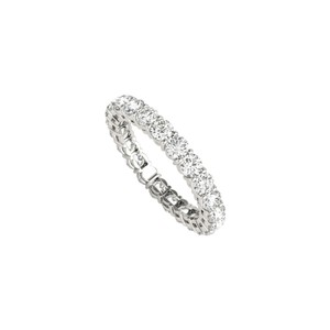 DesignByVeronica 1.00 Carat Diamond Eternity Band for Women in 14K Gold