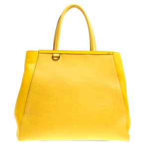 Fendi Tote in Yellow