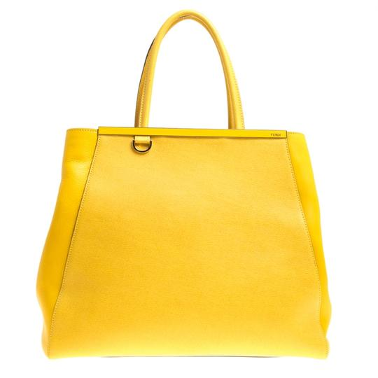 Preload https://img-static.tradesy.com/item/24221841/fendi-saffiano-large-2jours-yellow-leather-tote-0-0-540-540.jpg