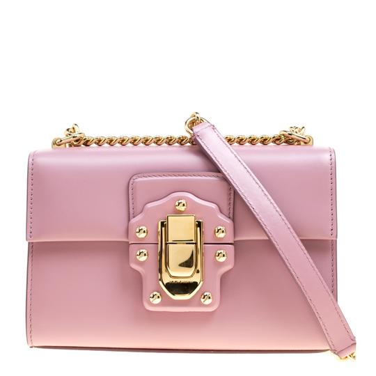 Preload https://img-static.tradesy.com/item/24221891/dolce-and-gabbana-bubble-gum-lucia-pink-leather-shoulder-bag-0-0-540-540.jpg