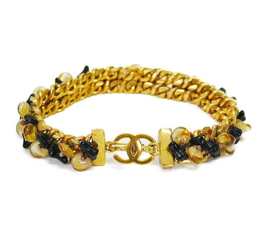 Preload https://img-static.tradesy.com/item/24221957/chanel-gold-vintage-stone-chain-rare-bracelet-0-0-540-540.jpg