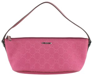 Gucci Pouch Poche Pochette Wristlet in Pink - item med img