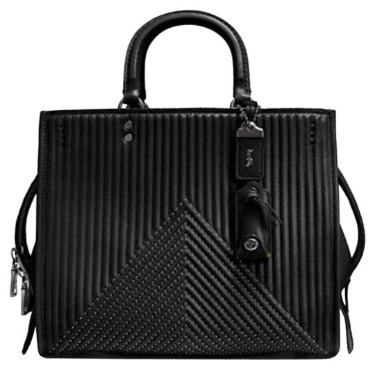 Preload https://img-static.tradesy.com/item/24221983/coach-1941-rogue-with-quilting-and-rivets-black-leather-satchel-0-1-540-540.jpg