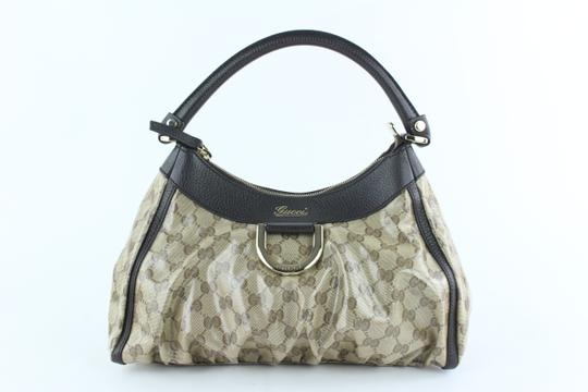 Preload https://img-static.tradesy.com/item/24222005/gucci-crystallized-monogram-gg-d-ring-hobo-13gz1019-brown-coated-canvas-shoulder-bag-0-2-540-540.jpg