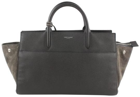 Preload https://img-static.tradesy.com/item/24222026/saint-laurent-cabas-rive-gauche-anthracite-small-2way-16mz1019-grey-leather-tote-0-4-540-540.jpg