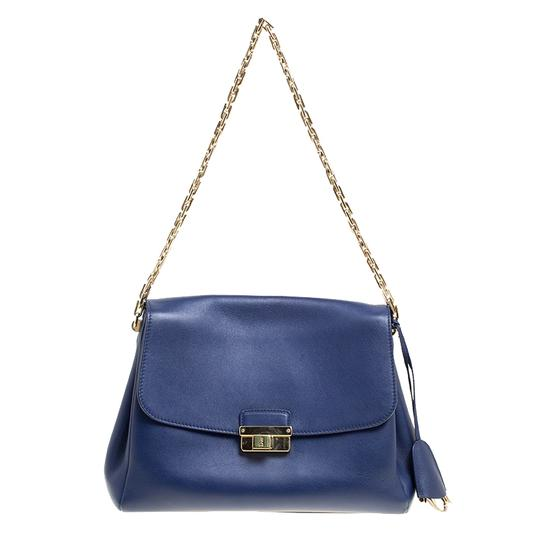 Preload https://img-static.tradesy.com/item/24222068/dior-large-diorling-blue-leather-shoulder-bag-0-0-540-540.jpg