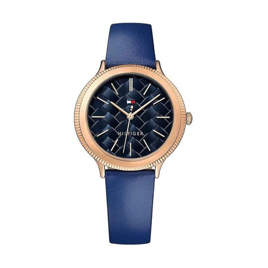 Preload https://img-static.tradesy.com/item/24222127/tommy-hilfiger-rose-gold-blue-candice-leather-band-women-s-watch-0-0-540-540.jpg