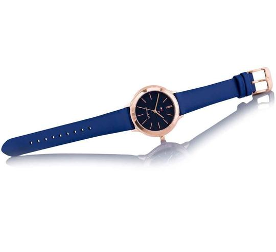 Tommy Hilfiger Tommy Hilfiger Candice Blue Leather Band Women's Watch