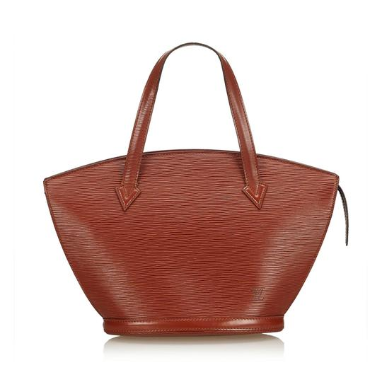 Preload https://img-static.tradesy.com/item/24222146/louis-vuitton-saint-jacques-pm-brown-leather-x-epi-leather-baguette-0-0-540-540.jpg