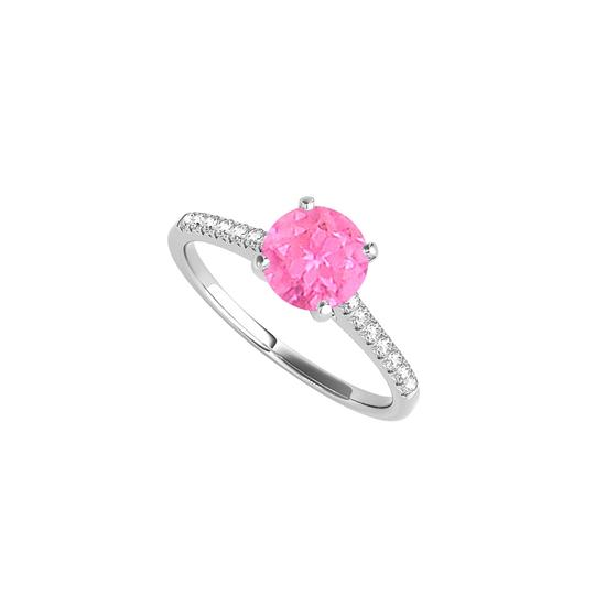 Preload https://img-static.tradesy.com/item/24222192/white-round-pink-sapphire-cz-engagement-125-ct-tgw-ring-0-0-540-540.jpg