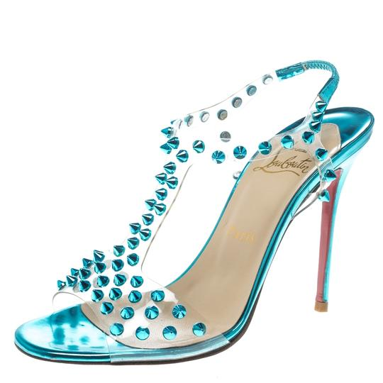 Preload https://img-static.tradesy.com/item/24222195/christian-louboutin-turquoise-spiked-pvc-j-lissimo-t-strap-sandals-size-eu-37-approx-us-7-regular-m-0-0-540-540.jpg