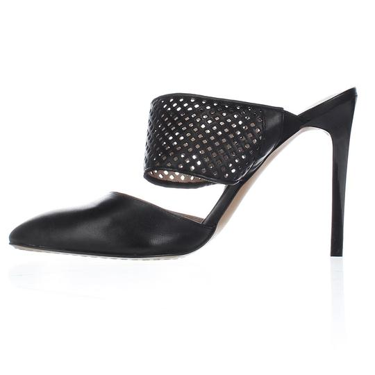 French Connection Black Mules