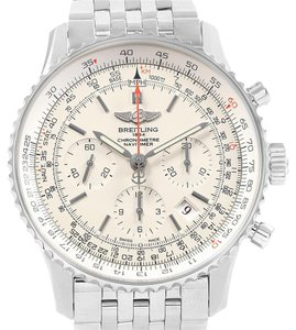 Breitling Breitling Navitimer 01 Silver Dial Limited Edition Mens Watch AB0123