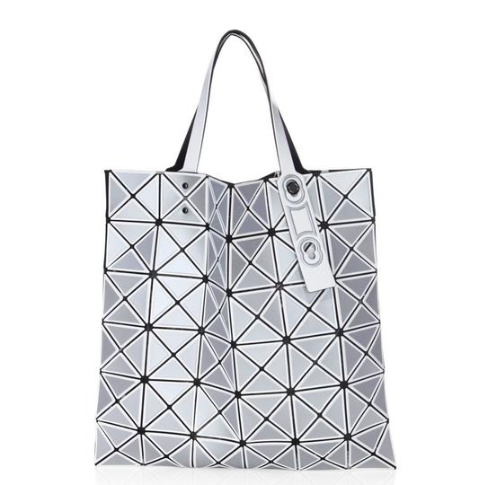Preload https://img-static.tradesy.com/item/24222317/issey-miyake-new-bao-bao-lucent-inlaid-silver-polyester-tote-0-0-540-540.jpg