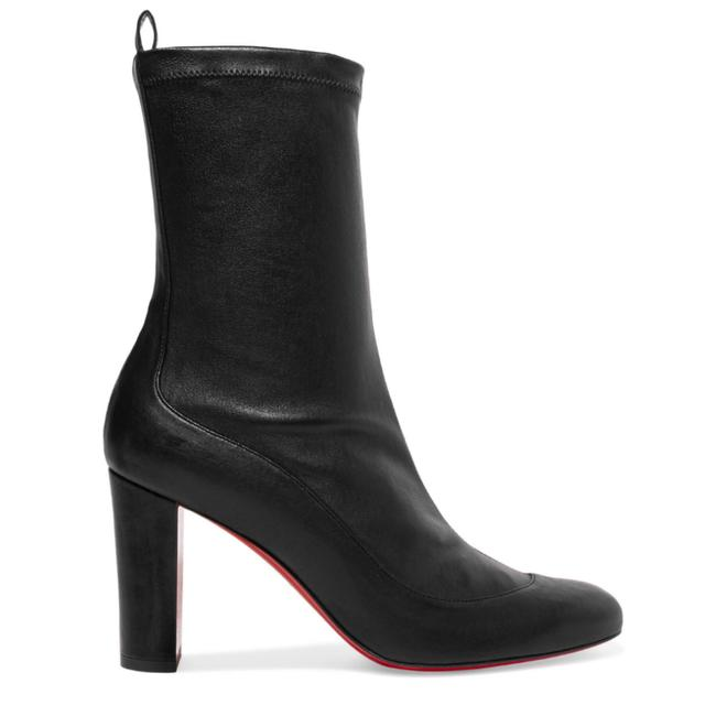 Christian Louboutin Gena 85 Leather Boots/Booties Size US 7 Regular (M, B) Image 1