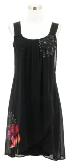 Preload https://img-static.tradesy.com/item/24222514/desigual-black-a11-new-designer-shift-sleeveless-r-short-formal-dress-size-2-xs-0-1-650-650.jpg