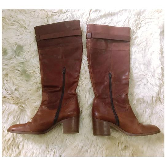 Coach brown/tan Boots Image 1