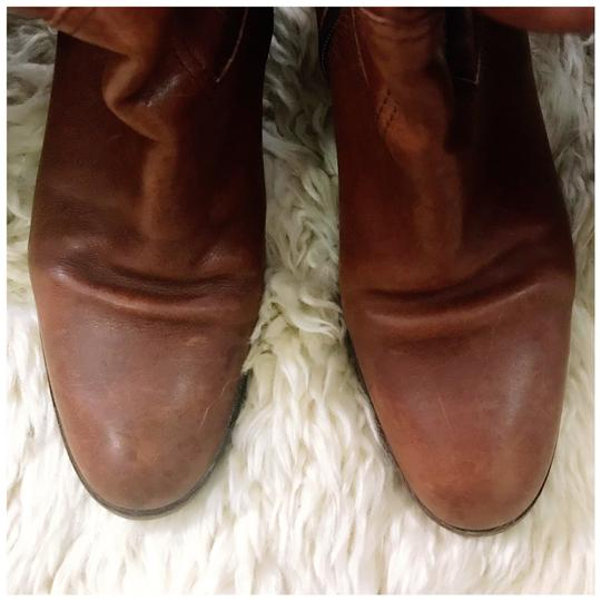 Coach brown/tan Boots Image 4