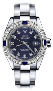 Rolex Rolex Navy 26mm Datejust Diamond & Sapphire Bezel